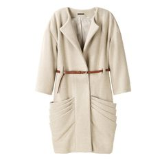Loeffler Randall draped pocket coat