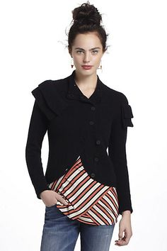 Wrapped Boucle Cardigan #anthropologie