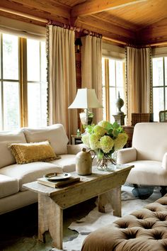 Add a Sense of History   Mix and match patterns, embrace bold colors, layer rugs, and so much more! Try these tips to create a pretty space to enjoy conversations with friends and family. No matter if you call it a living room, family room, den, or even a keeping room–you've got that one room in your home, aside from the kitchen, that's intended for both family and company. And, we bet, you want it to look both pulled together and comfortable. We are here to tell you it's possible to create…