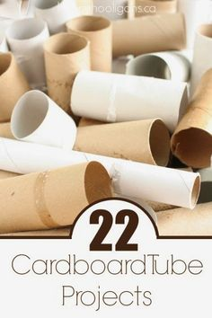 22 Things to Make with Cardboard Tubes | DIY Craft Project