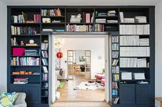 My dream bookcase. Beautiful