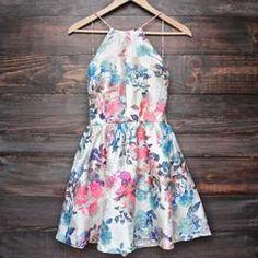 floral fit & flare dress (more colors/prints) - shophearts - 12