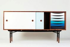 "Danish designer Finn Juhl would have celebrated his 100th birthday in 2012. For the occasion, the Triode showroom in Paris becomes the ""House of Finn Juhl"" and presents exclusively the last re-editions produced by One Collection. I love Danish mid-century design, more present and modern than ever!"