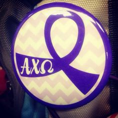 ΑΧΩ and Domestic Violence Awareness Together Lets, Alpha Chi Omega, Domestic Violence, College Life, Sorority, In The Heights, Letters, Key, Crafty