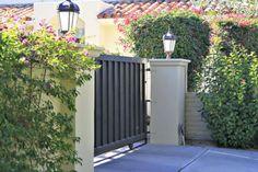 nice 44 Beautiful Automatic Driveway Gate Ideas