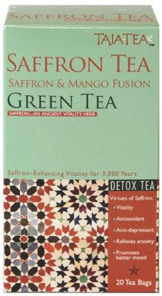 Saffron Mango Green Tea 9 pack -- More info could be found at the image url. (This is an affiliate link and I receive a commission for the sales)