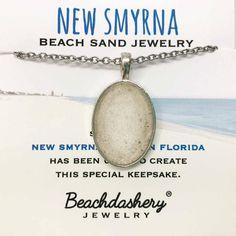 f12df8cc7 New Smyrna Beach Sand Jewelry handmade by Beachdashery #sandjewelry  #beachjewelry #florida New Smyrna