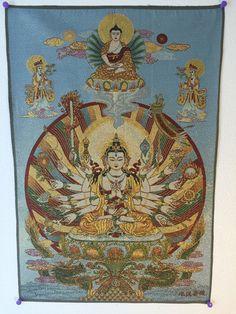 Amoghapasha Lokeswar | Explosion Luck | Feng Shui Paintings & Buddhist Art #FengShui #art