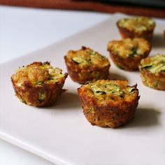 Zucchini Tots:  A fun and healthy play on tater tots with a crispy outside and tender inside.