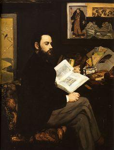 Manet, Edouard - Portrait of Emile Zola - Émile Zola - Wikipedia