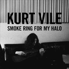 """Philadelphia singer/songwriter KURT VILE returns with his second proper album Childish Prodigy was a compendium of sorts). Smoke Ring For My Halo is a gorgeously layered record. Ranging from the tender breezy folk in """"Jesus Fe Lp Vinyl, Vinyl Records, Kurt Vile, Proto Punk, Jazz, Smoke Rings, Pochette Album, Delta Blues, Thing 1"""