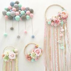 DIY: Macramee-Federn aus Jute-Garn, mehr dazu im Blog elsass #elsass #federn #macramee  #elsass #federn #jeweleryideas #macramee