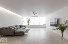 Small Modern Home, Apartment Layout, Modern House Design, Home And Living, Living Room Designs, Minimalism, Sweet Home, Interior, Furniture