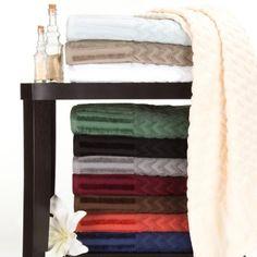 Windsor Home Chevron Cotton 6 Piece Towel (Green - Solid Color), Warehouse of Tiffany Bath Towel Sets, Bath Towels, Windsor Homes, Towel Wrap, Bath Or Shower, Linen Store, Bath Linens, Cotton Towels