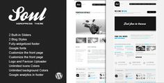 SOUL - Premium WordPress Theme