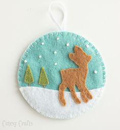 If I Had More Hours: 9 Handmade Ornaments - Flax & Twine