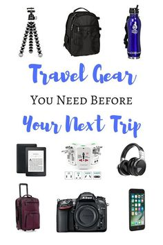Trying to figure out what you need to buy before you leave for your travels? Here's all the travel gear you need for your next trip!