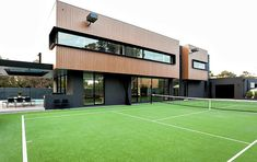 Mentone House by Jasmine McClelland Design | With a football soccer field instead
