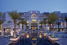 The Anantara Eastern Mangroves Hotel & Spa offers comfort and convenience whether you're on business or holiday in Abu Dhabi. Both business travelers and tourists can enjoy the hotel's facilities and services. All Inclusive Resorts, Hotels And Resorts, Best Hotels, Luxury Hotels, Spa Hotel, Hotel Pool, World Trade, Abu Dhabi, Spa Offers