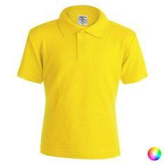 Children's Short Sleeve Polo Shirt 145876 - Yellow / M