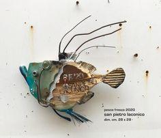 Paper Mache Sculpture, Fish Sculpture, Sculptures, Weird Fish, Fish Design, Fish Art, Fresco, Wood Crafts, Steampunk