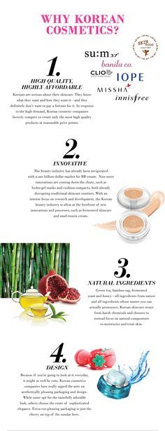 Benefits of #Korean #Beauty products.