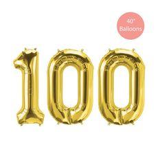 Giant Number Balloons, Jumbo Balloons, Metallic Balloons, Round Balloons, White Balloons, Confetti Balloons, Bridal Shower Balloons, Wedding Balloons, 30th Birthday Balloons