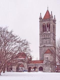 Penn Avenue Gatehouse, Allegheny Cemetery; from Father Pitt's blog