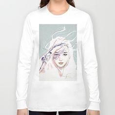 awake Long Sleeve T-shirt by SEVENTRAPS | Society6