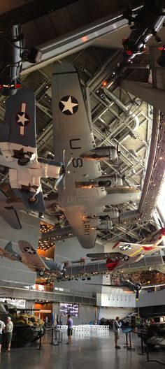 National WW2 Museum, New Orleans, Louisiana. USA.