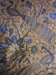 Batik sogan solo peacock 1940~1950