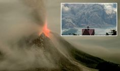 02/27/2016 - Fears over 'red alert' Sinabung Volcano in Indonesia as it erupts TWICE in one day sending ash 3KM high.
