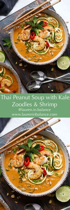 Savory, creamy, peanut-y soup loaded with healthy fats, fiber and protein and won't leave you feeling heavy and sluggish. 100% dairy-free and gluten-free.  #dairyfree #glutenfree #healthy #eatbetter #foodanddrink #lowcarb
