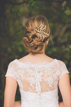 Arranjo Lírio - Tulle Noivas