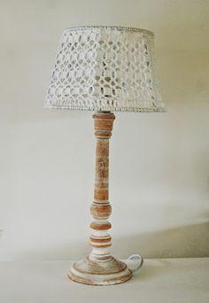 mumsboven: gehaakt lampenkapje