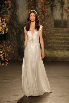 Jenny Packham 2016 Bridal Collection. See every last dress here: http://static.weddingchicks.com/jenny-packham-2016-bridal-collection/