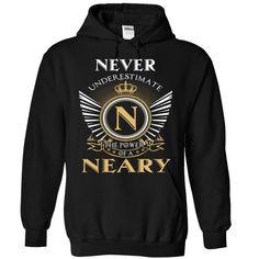 23 Never NEARY T Shirts, Hoodies. Check price ==► https://www.sunfrog.com/Camping/NEARY-Black-87800341-Hoodie.html?41382 $39.95