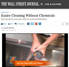 Norwex is mentioned in today's Wall Street Journal! In an article about easier cleaning without chemicals, the Wall Street Journal mentions Norwex and its extraordinary microfiber products. See the video and full article now. If you prefer not to subscribe to view the article please try this link: http://online.wsj.com/news/article_email/easier-cleaning-without-chemicals-1403653090-lMyQjAxMTA0MDIwNTEyNDUyWj