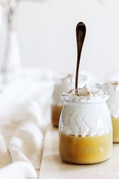 Parfait, Pudding, Cute Desserts, Custard, Cheesecakes, Yummy Food, Delicious Recipes, Camembert Cheese, Mousse