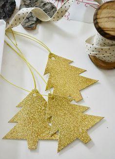 Gold christhmas tree