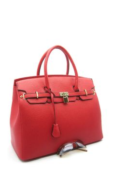 A Classy Perfect Red Bag!  Hannah Bag ~ $58