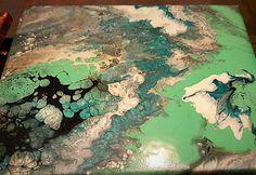 Limime Art   Fluid painting   #Fluidpainting #limimeart #canvas #acrylicpaint #metallicacrylicpaint #realfun