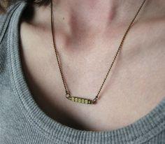 Component Necklace.
