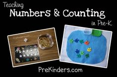 Teaching Numbers and Counting in Pre-K