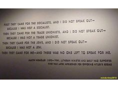 Holocaust Quotes Classy Think About What You Saw  Memorial Museum Museums And History Design Ideas