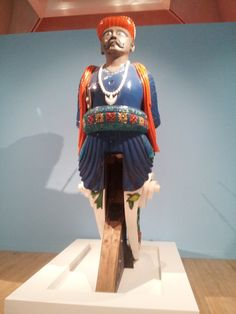 """HMS Calcutta"" was sold to breakers in 1908. Her figurehead was acquired by Admiral Lord Fisher, then First Sea Lord, as she had been his first seagoing ship.   In 2013 the figurehead of ""HMS Calcutta"" (shown here) was restored and transferred to the National Museum of the Royal Navy."
