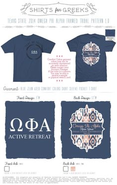 Get shirts for your retreats, especially if you travel to a cool location or have a neat theme!