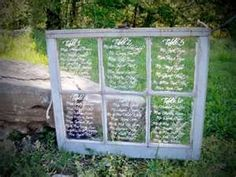Perfect seating plan for an outdoor or rustic wedding