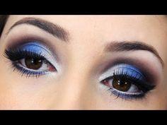 Maquiagem Azul com Prata - Especial 2 anos de blog e canal