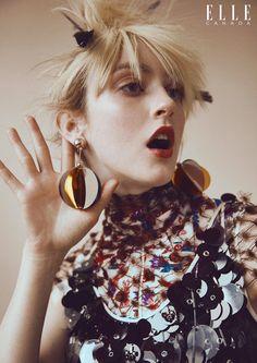 Frances Coombe | Elle Canada Maio 2016 | Editoriais - Revistas de Moda